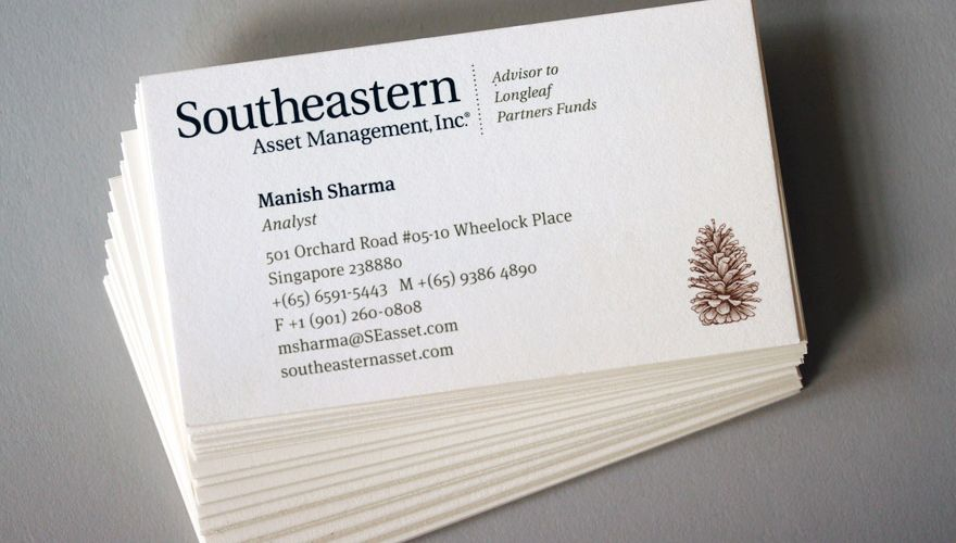 Southeastern asset management business cards our portfolio southeastern asset management business cards reheart Images