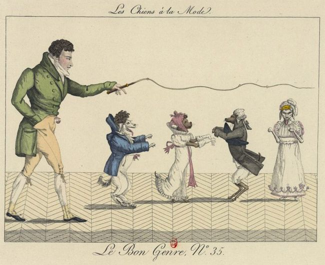 Blog: Le Bon Genre – Parisian Social Life in the Early 1800s. From Susanna Ives.