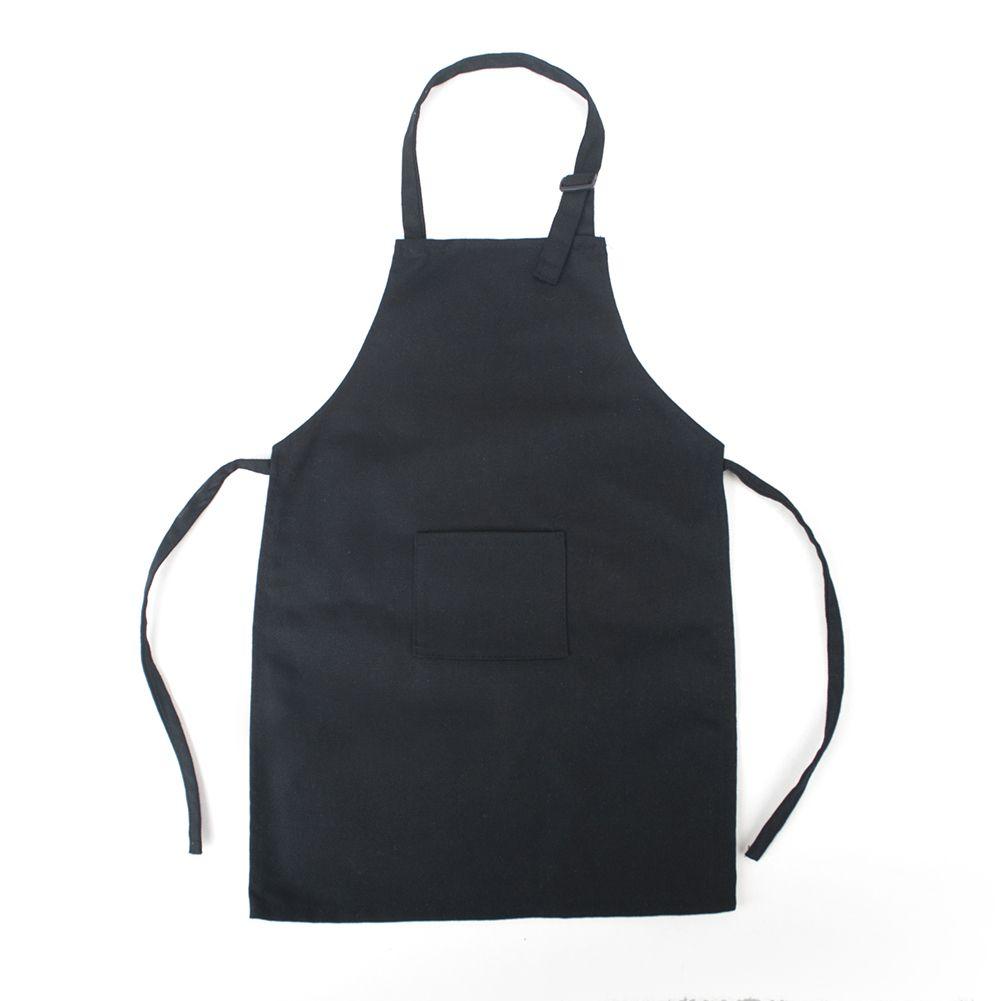 Fame Adults Long 3 Pocket Waist Apron Black-O//S