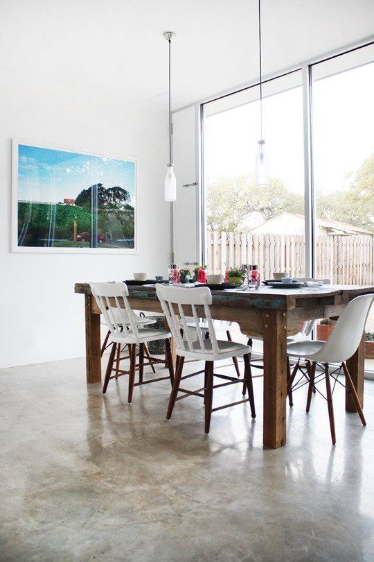 Master The Mix How To Combine Mismatched Multiples So They Dont Look Crazy Painted ChairsWood ChairsDining Room