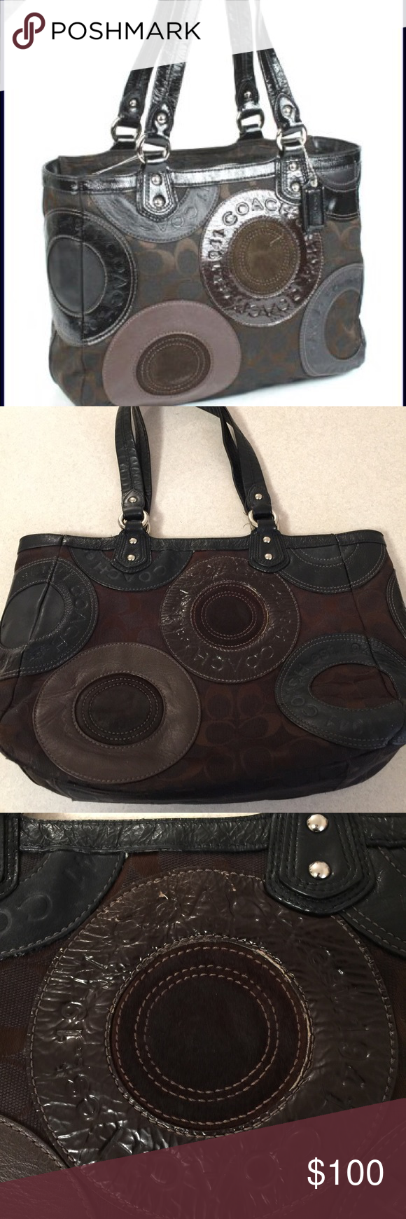 Coach Purse Slightly Used Authentic Coach Bag Purchased At Coach