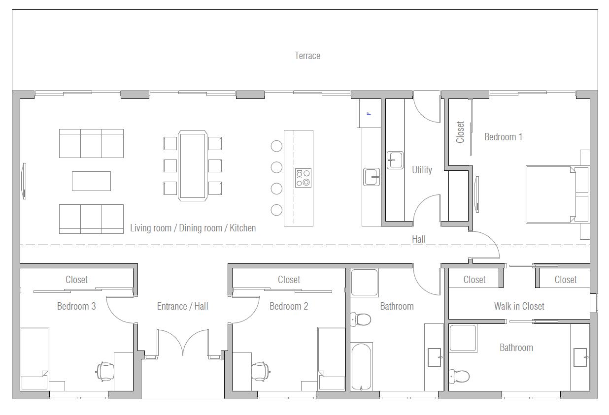 House Design House Plan Ch420 10