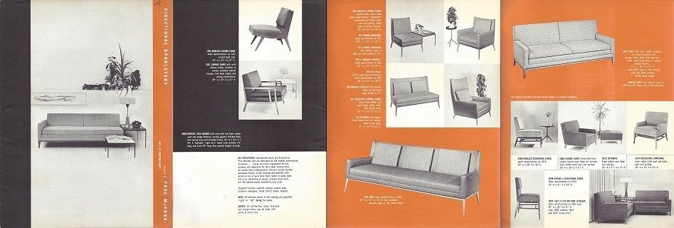 Vintage Paul McCobb Directional Furniture Catalog Brochure Custom Craft  Original | EBay