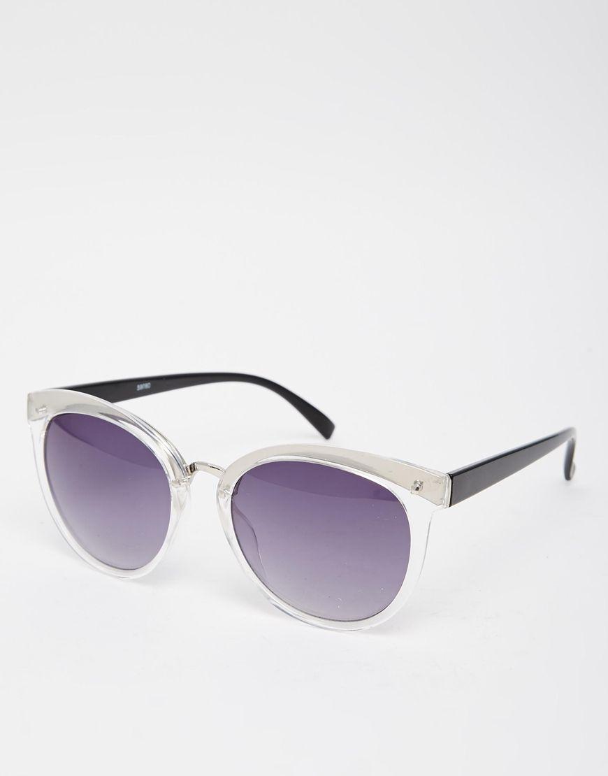 Image 1 ofAJ Morgan Round Cat Eye Sunglasses