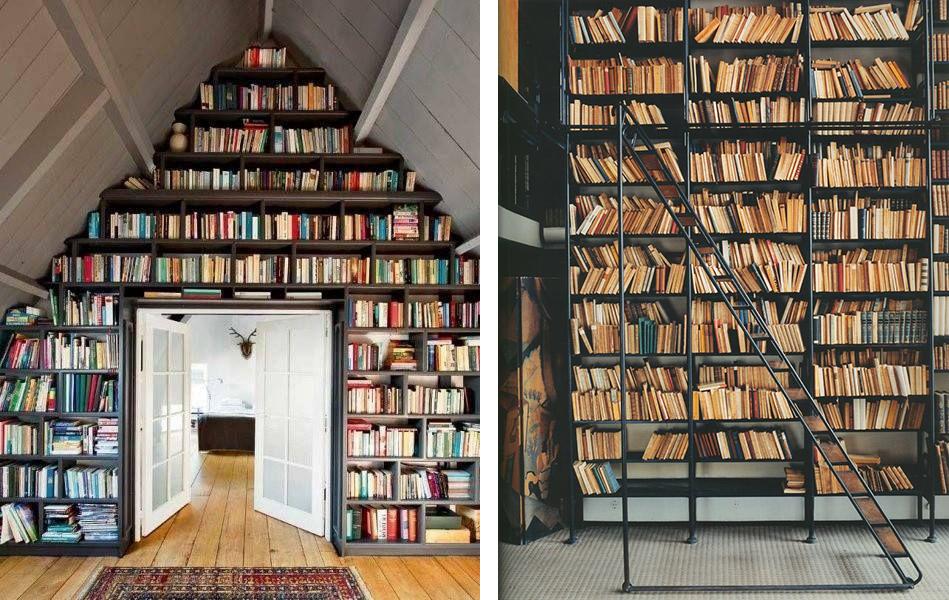 la fabrique d co biblioth ques ranger ses livres dans la maison d co pinterest. Black Bedroom Furniture Sets. Home Design Ideas