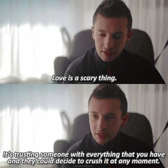 I love you Tyler. Thank you for all you've done for me. You've helped save me, and continue to to this day, and I can't thank you enough for that. Thank you.