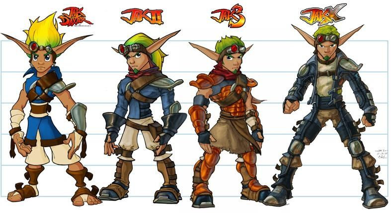 Jak And Daxter Art 4 Photo De Artworks 2 Art Game Jak