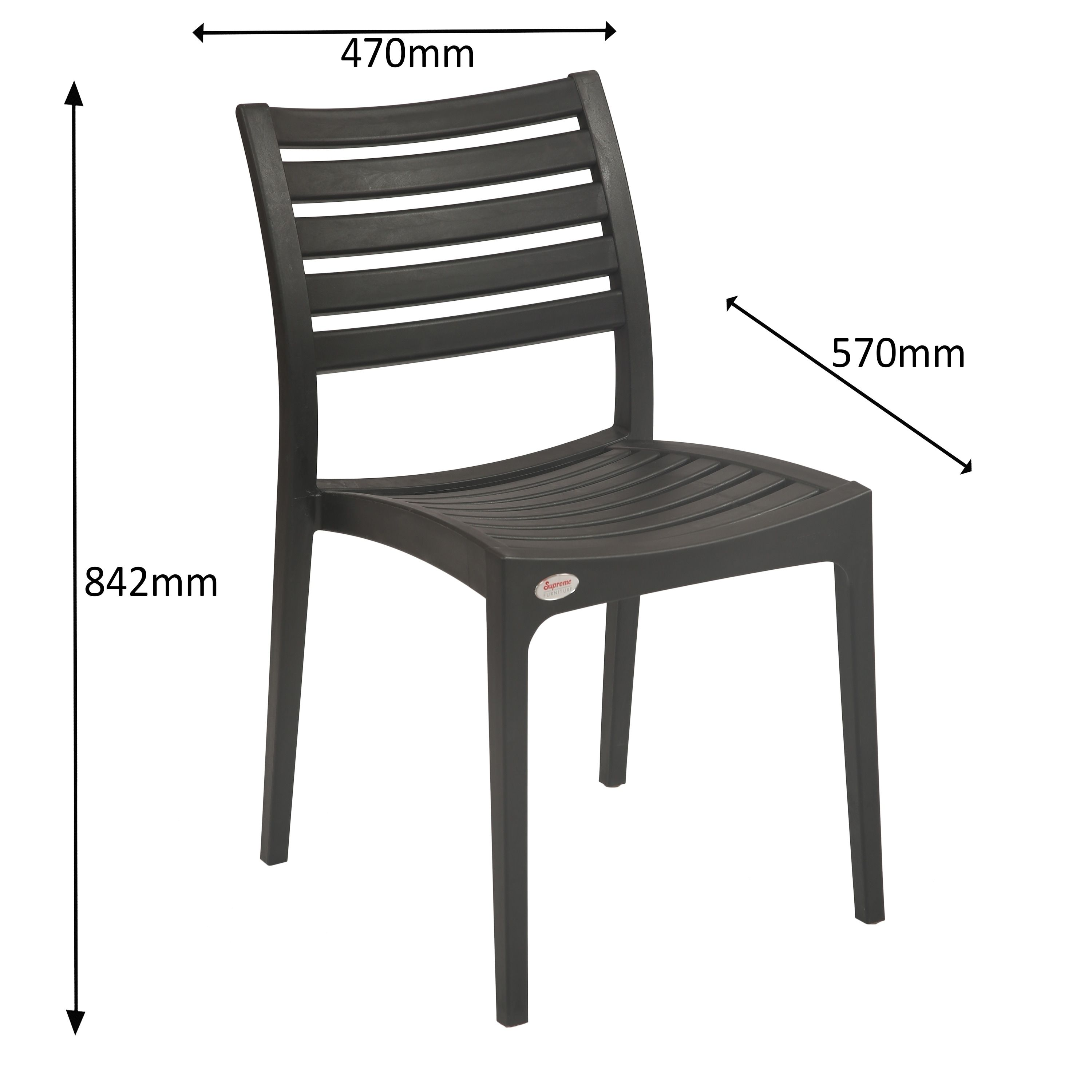 Outdoor omega chair set of black patio furniture omega and