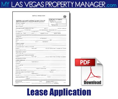 Printable Sample Rental Application Form Pdf Form Real Estate - application form in pdf