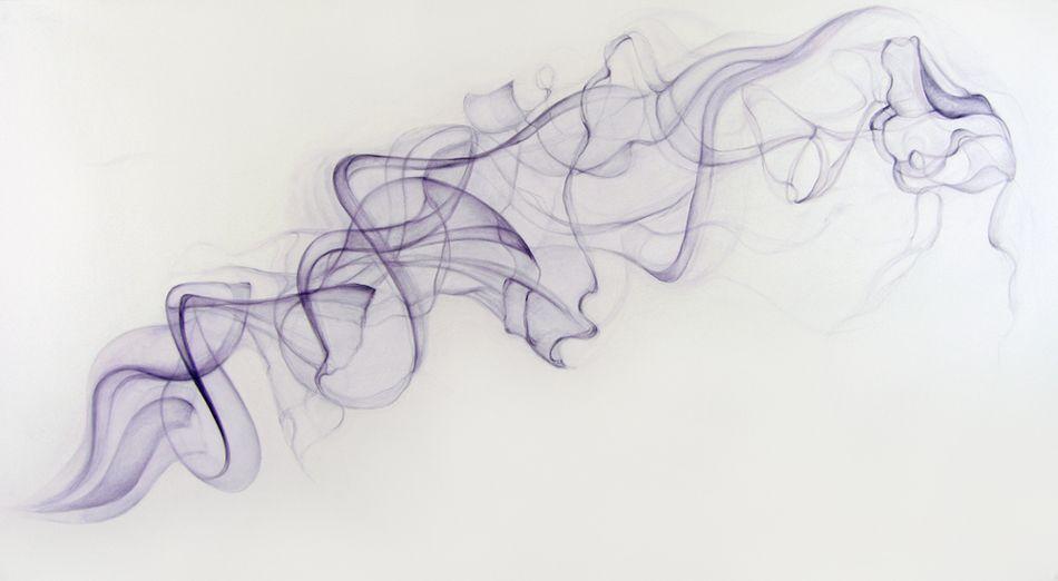Raven Smoke Drawing by Julian B