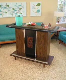 Image result for mid century modern home bar | Mid century modern ...