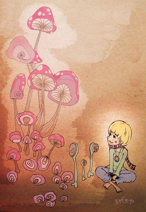 茂盛香菇  #illustration #daylilyart #插畫 #玳力力