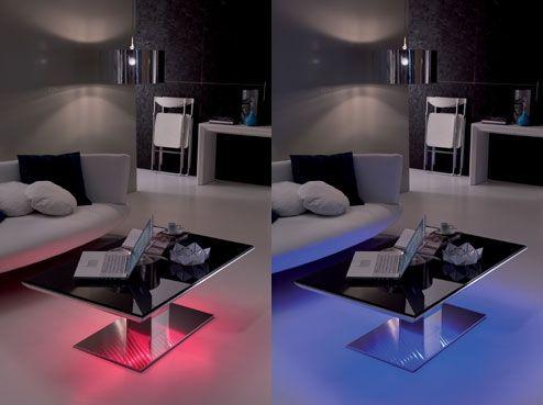 led lighted tables ozzio e-motion flat 2 Table Design - elegante esstische ign design