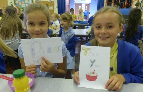 Runcorn All Saints CE Primary pupils