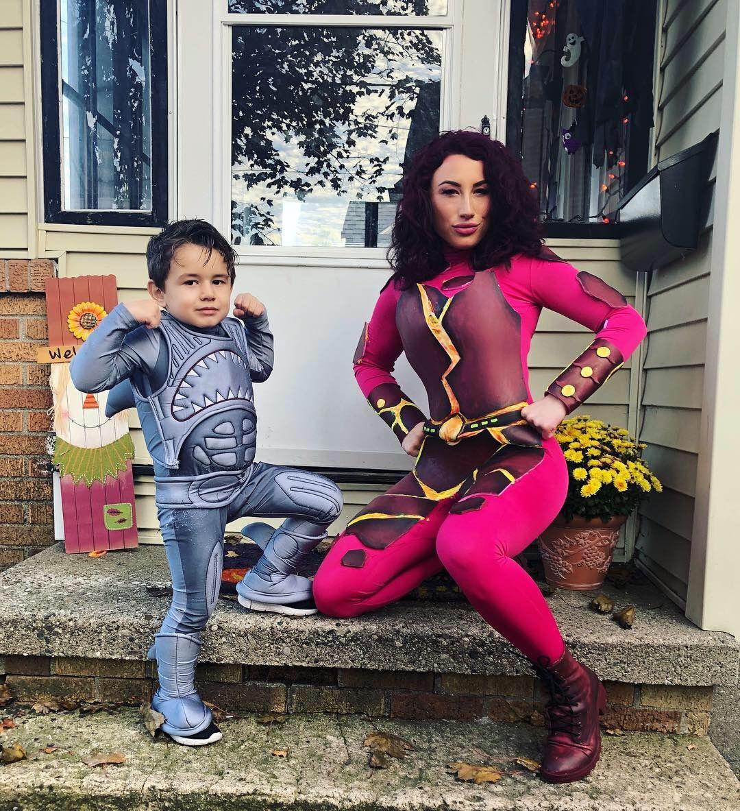 Halloween 2020 Son Sharkboy and Lavagirl | Mom halloween costumes, Mom costumes