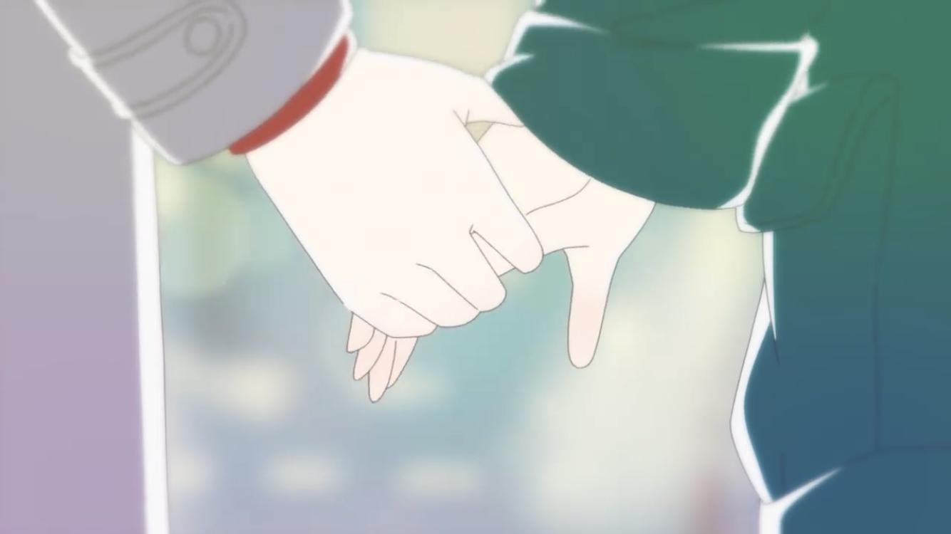 a day before us 💞😩 hold hands Shigatsu wa kimi, Miyazono