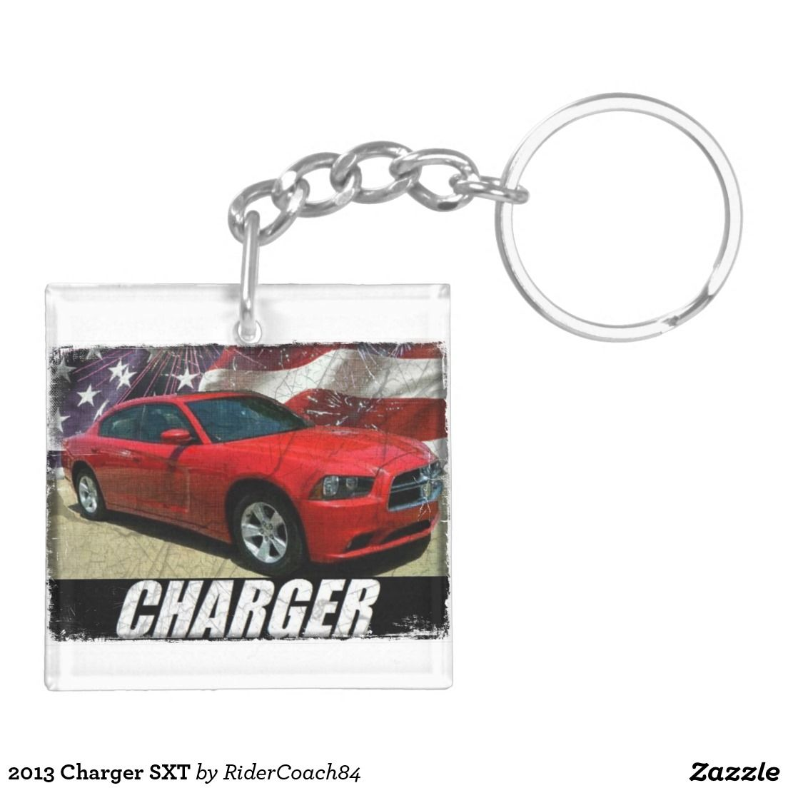 2013 Charger SXT Keychain