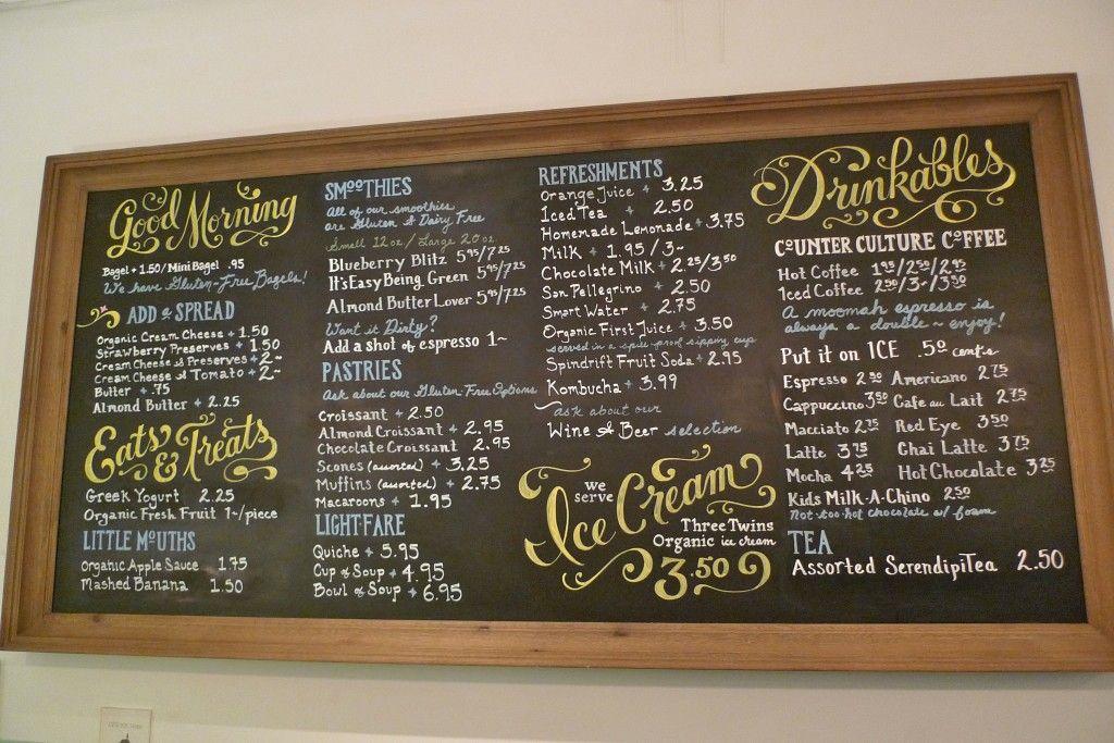 Moomah 2.0 | Coffee shop signage, Cafe menu boards, Chalk menu