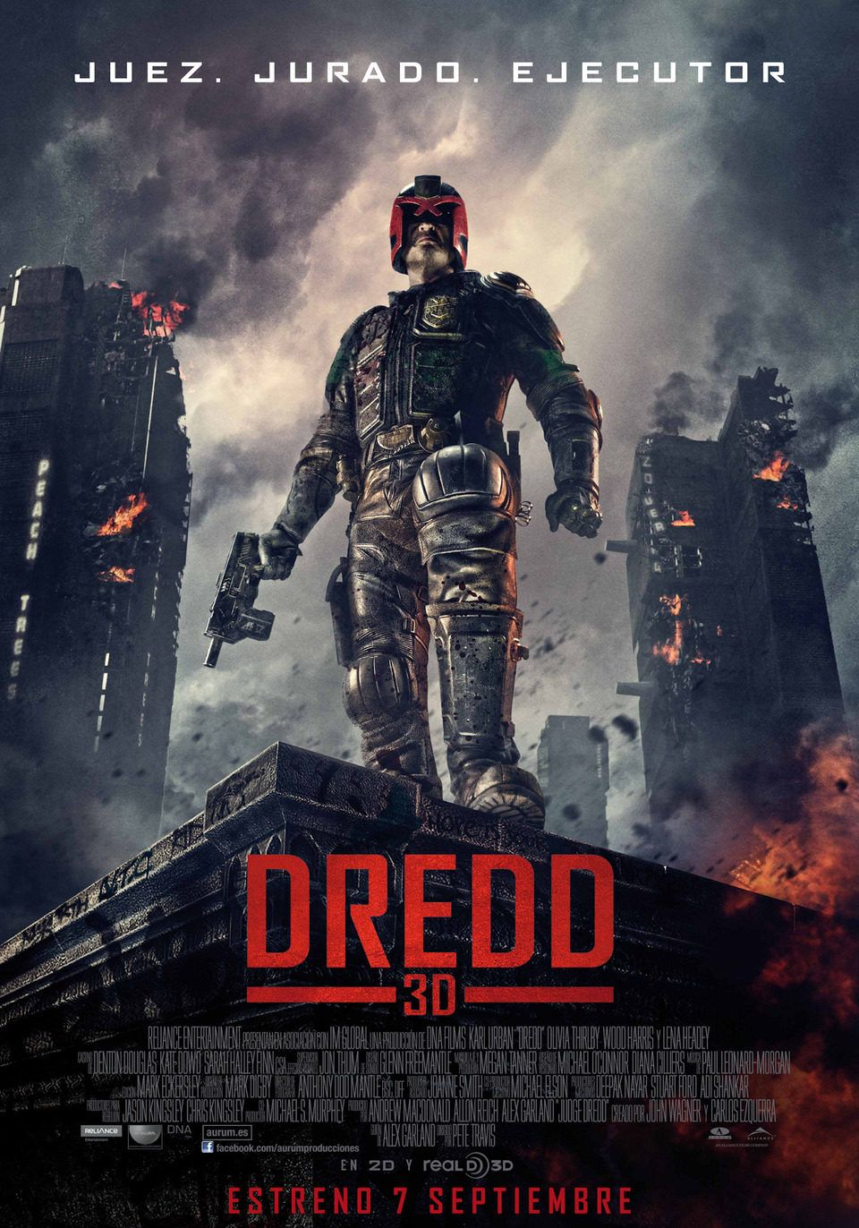 Dredd 2012 Dredd Pelicula Ver Peliculas Gratis Ver Peliculas Online