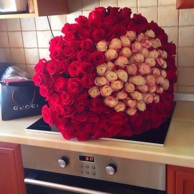 Resultado de imagen para ramo de rosas grandes tumblr - Ramos de flores grandes ...