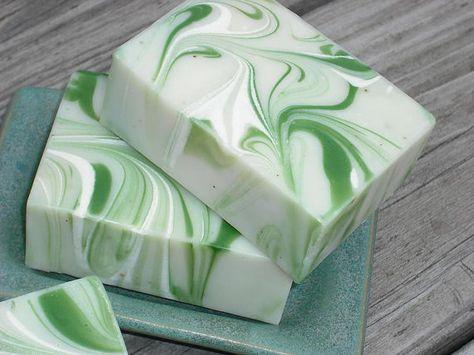 Savon romarin menthe / savon huile essentielle / procédé froid savon