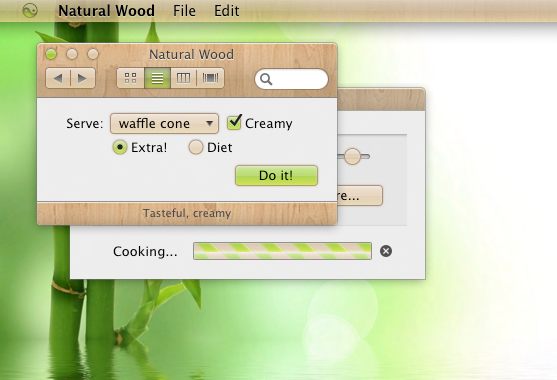 Discover new Mac Themes for Flavours!