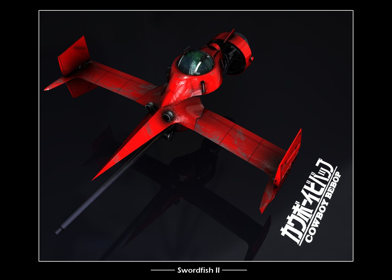swordfish ii from cowboy bebop spaceships amp vehicles
