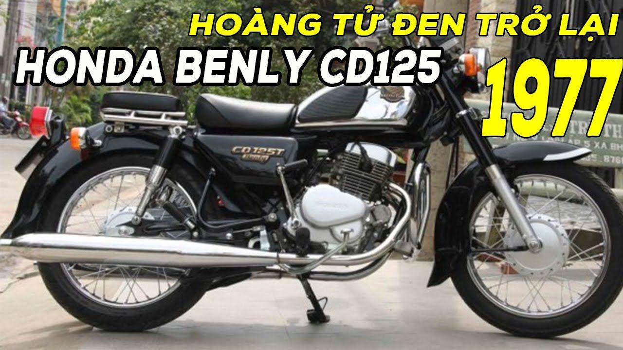 Honda CD 125cc Benly Hoàng Tử Đen vang bóng một thời đã Quay trở lại và ...