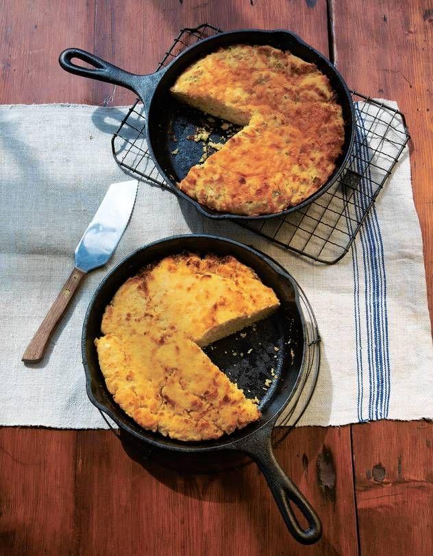 Cornbread. Always a winning side dish, especial when following @katieworkman100's recipes!