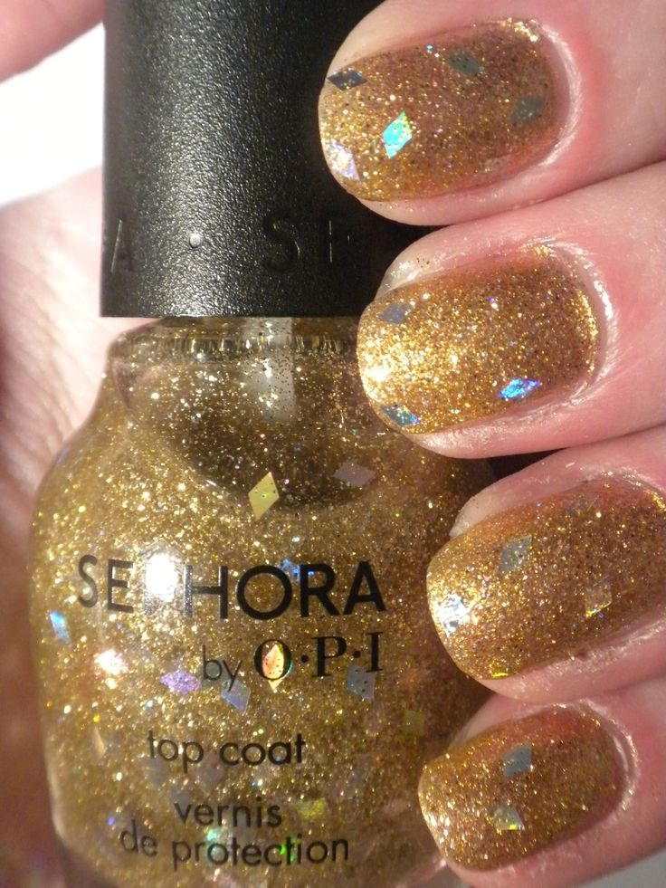 Sephora by OPI- I Found A Pot of Gold top coat- brand new still ...
