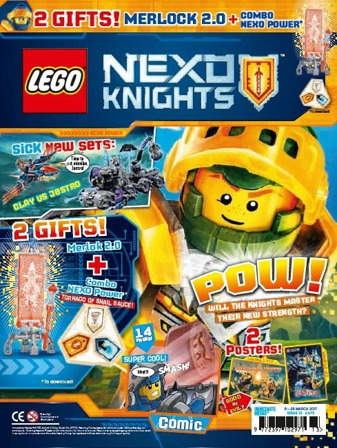 Lego nexo knights issue 13 comics story and knight for Powers bureau issue 13