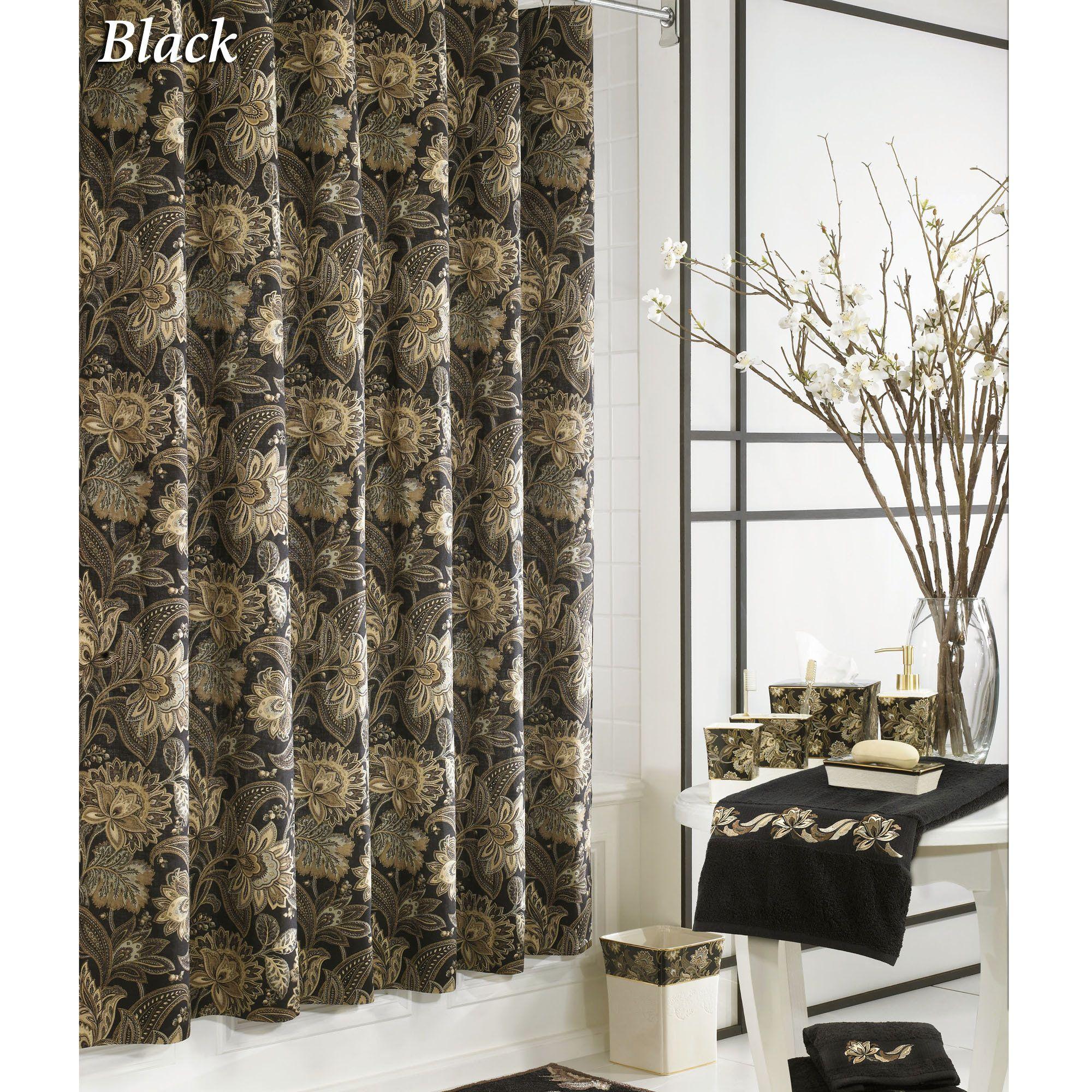 Valdosta Jacobean Floral Shower Curtain By J Queen New York