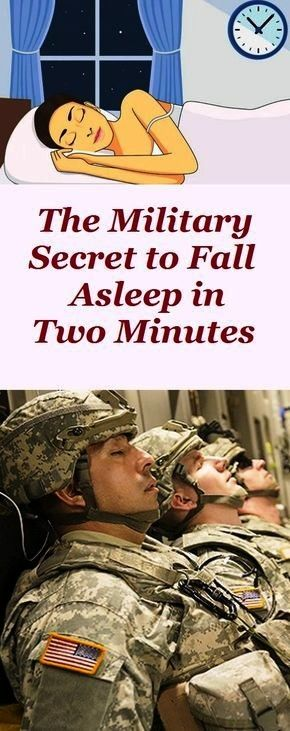 #military #fitness #trainer #asleep #health #fall #mens #how #way #and #toHow to fall asleep militar...