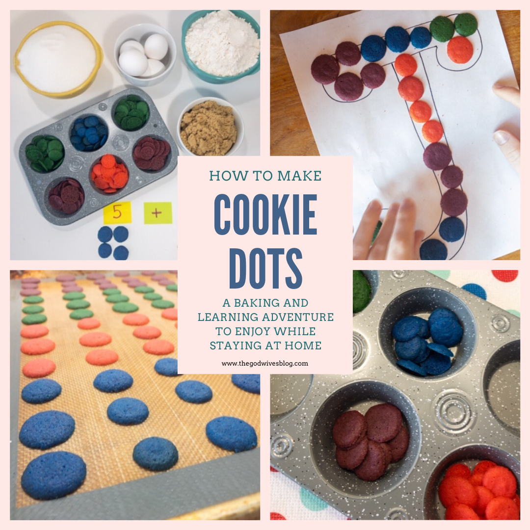 Cookie Dots A baking and learning adventure to enjoy