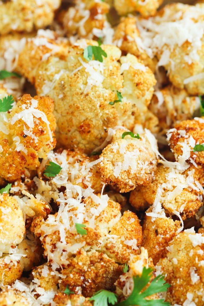 Photo of Garlic Parmesan Roasted Cauliflower – Primavera Kitchen
