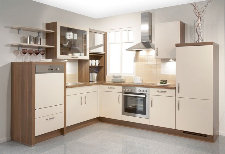 Küche in magnolie #eckküche www.dyk360 kuechen.de küchen in creme