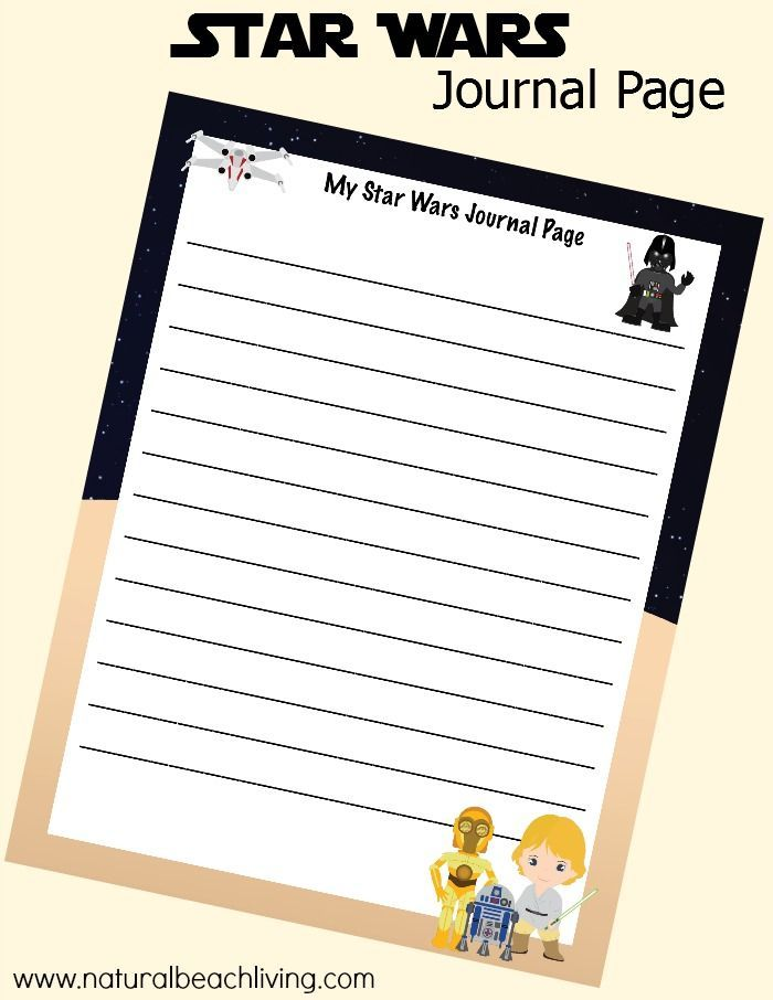 Star Wars Printables & Ideas for Kids