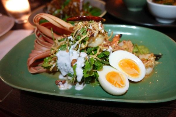 Wild Ginger Banana Blossom Salad ($26) - Wild Ginger Dining + Bar - Does My Bomb Look Big In This?