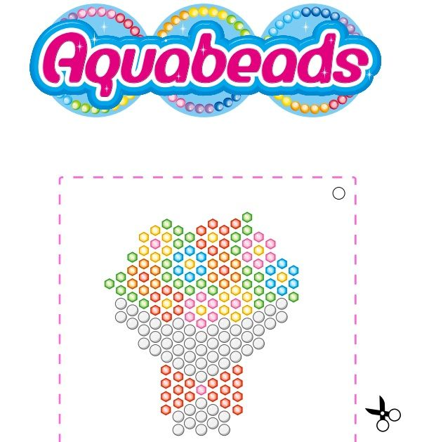 Aquabeads Bouquet Template Beados Pinterest Template Beads - Aquabeads templates