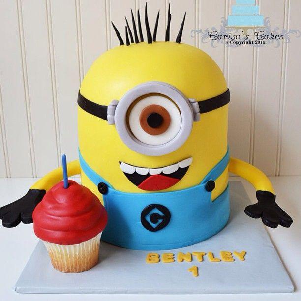 More minion cake!