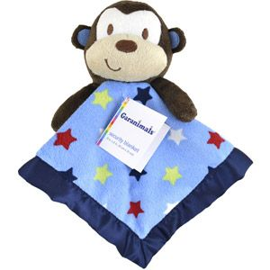 Garanimals Junior Varsity Jungle Security Blanket With Plush Animal