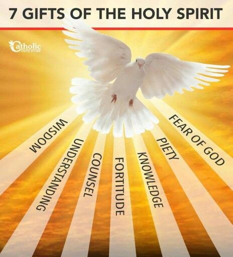7 gifts of the holy spirit catholicism pinterest holy spirit 7 gifts of the holy spirit negle Images