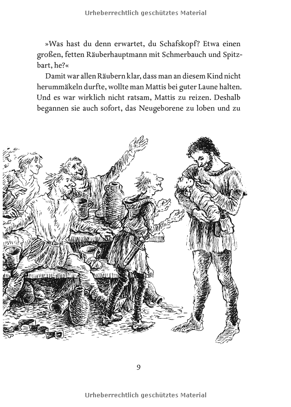 Ronja Räubertochter Amazon.de Astrid Lindgren, Ilon ...