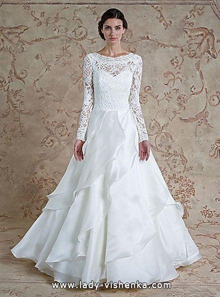 53. Brautkleider mit Spitze Ärmel Alle Brautkleider http://de.lady ...