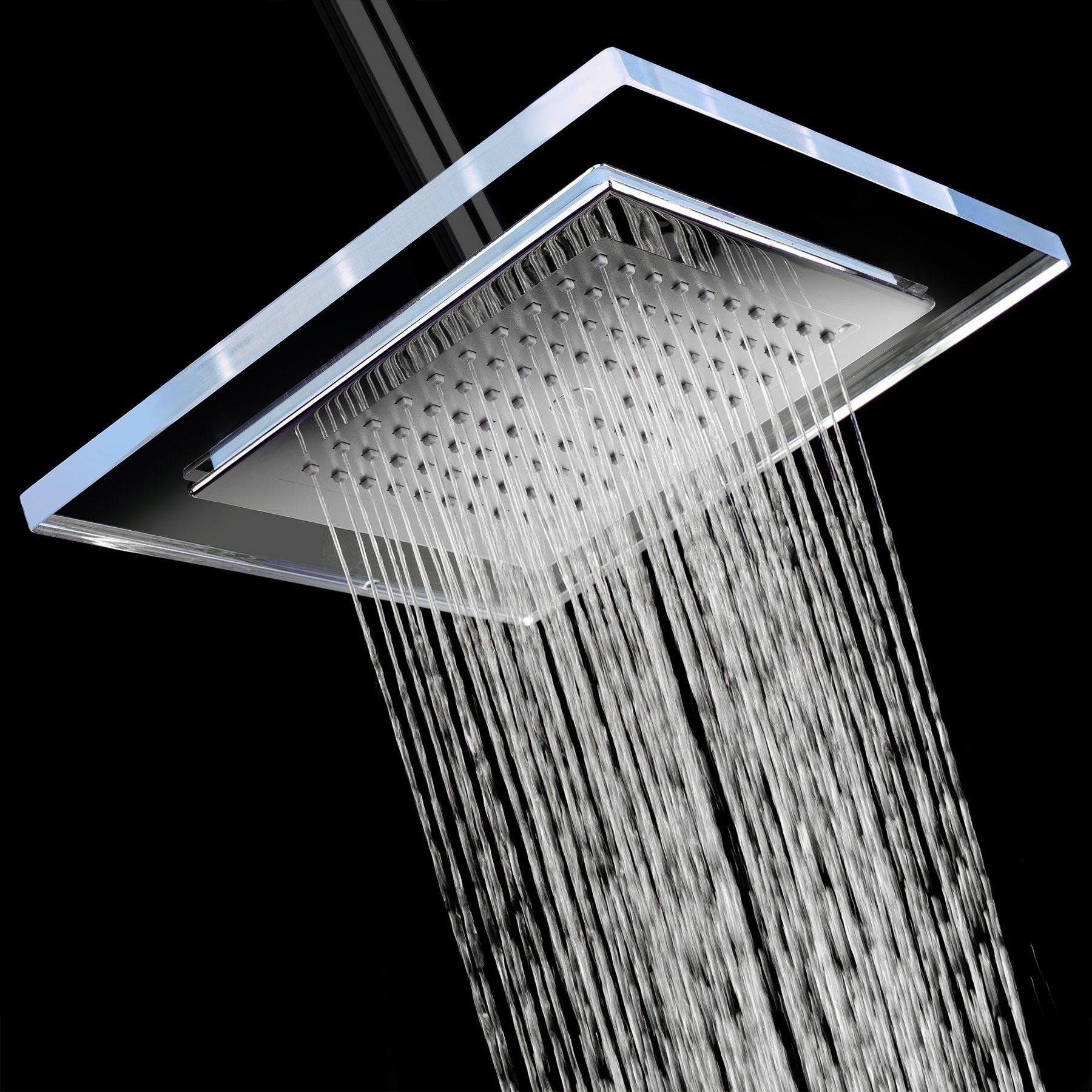 Akdy Sh0079 9 Rainfall Shower Style Head Contemporary Modern Home