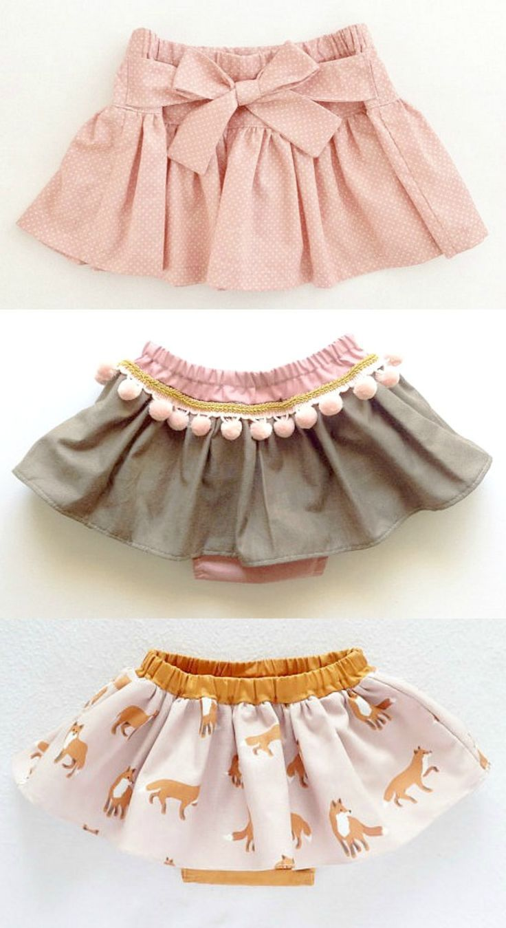 Handmade Skirts With Bloomers   moonroomkids on Etsy   Mädchen ...