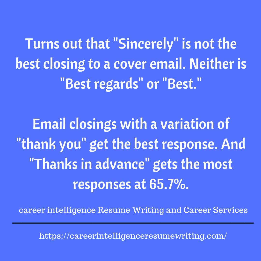 How To Get A Response To Your Email No response, Resume
