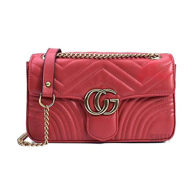 0e2b89e7f1a2 Available in black as well. Looks just like it. Amazon.com  Women Fashion  Shoulder Bag Jelly Clutch Leather Handbag Quilted Crossbody Bag with Chain.