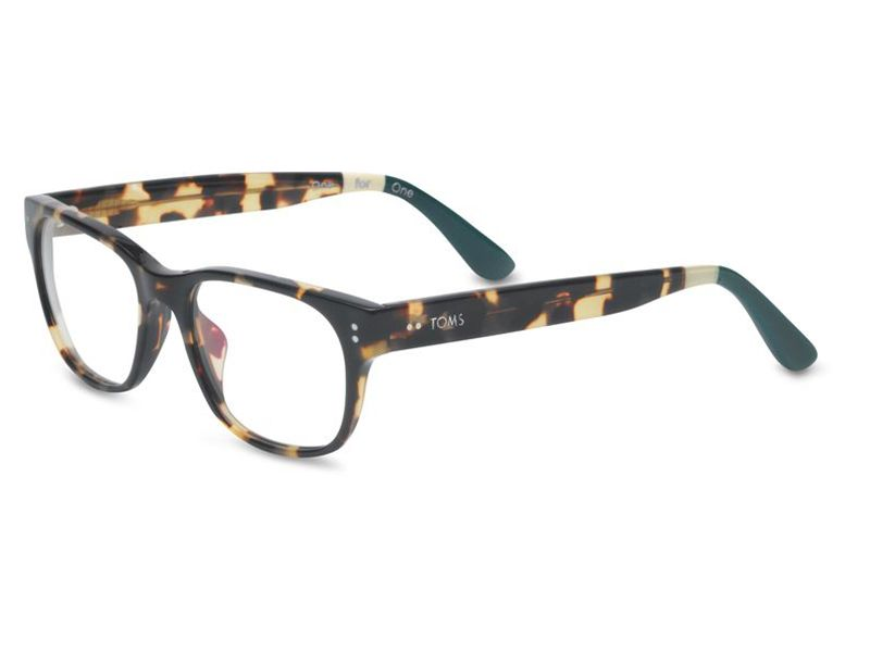 Blonde Tortoise with hunter green tips make these TOMS Clarke frames ...