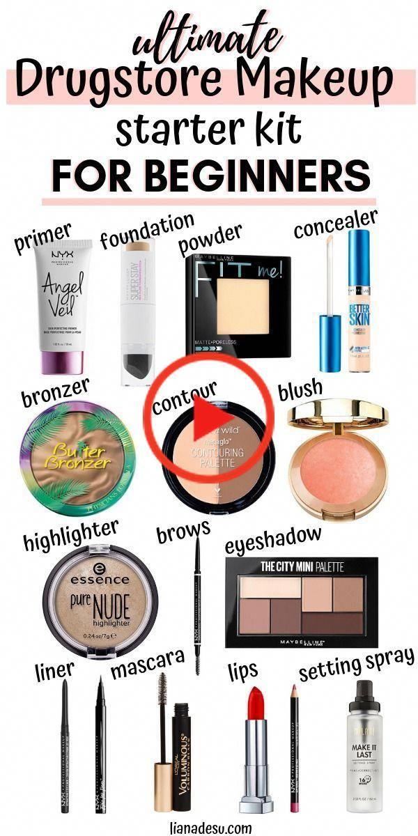The Ultimate Drugstore Makeup Starter Kit For Beginners